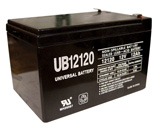 12 VOLT - 12 AH scooter battery