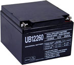 12 VOLT - 26 AH scooter battery
