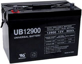 12 VOLT - 90 AH battery
